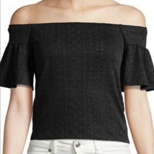 Tops - Highline Collective Flutter Sleeve Cropped Top